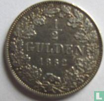 Beieren ½ gulden 1862