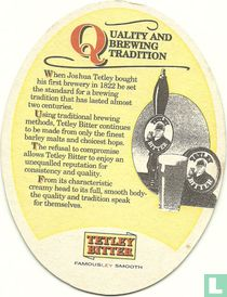 Quality and brewing tradition