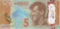 Nieuw-Zeeland 5 Dollars 2015