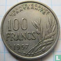 Frankrijk 100 francs 1957 (zonder B)