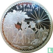 """Spain 50 euro 2006 (PROOF) """"500th anniversary of the death of Christopher Colombus"""""""