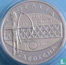 """Italië 10 euro 2016 (PROOF) """"Sardinia"""""""