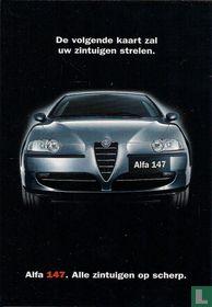 """1640b - Alfa 147 """"Alle zintuigen op scherp"""""""