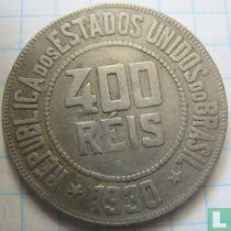 Brasilien 400 Réis 1930