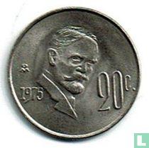 Mexico 20 centavos 1975