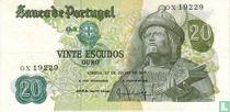 Portugal 20 Escudos (P173c2)