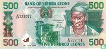 Sierra Leone 500 Leones 1998