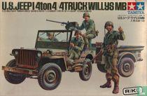 U.S.Jeep 1/4 ton $x$ Truck Willys MB