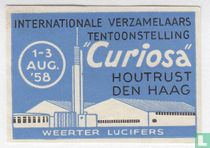 Int verzamelaarstentoonstelling Curiosa