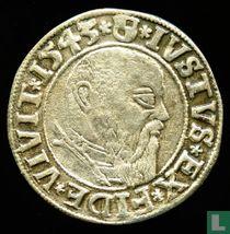Pruisen 1 Groschen 1543