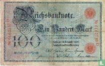 Reichsbanknote, 100 Mark 1905 (R23a)