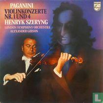 Paganini: Violinkonzerte nr.1 und 4
