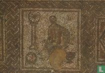 "4th century mosaic pavement, ""the astronomer"""