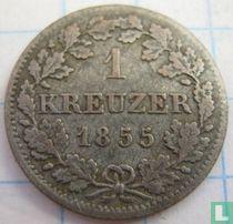 Beieren 1 kreuzer 1855