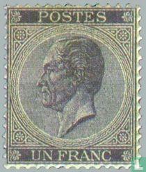 King Leopold I in profile