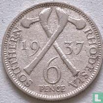 Zuid-Rhodesië 6 pence 1937
