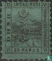 Postes locale Chemin de Fer de la mer Noire