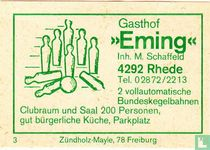 "Gasthof ""Eming"" - M. Schaffeld"