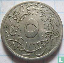 Ägypten 5/10 Piaster 1901 (1293-27)