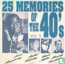 25 memories of the 40's vol.3