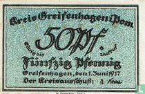 Greifenhagen, Kreis 50 Pfennig 1917