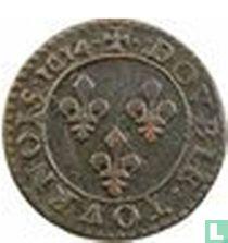 France double tournois 1614 (X)
