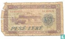 Albanië 5 Leke 1964