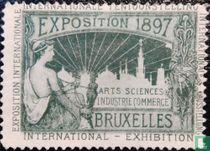 Naar Sluitzegels Internationale tentoonstelling Brussel