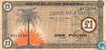 Biafra 1 Pound ND (1967)