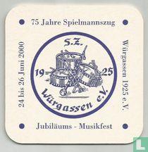 75 Jahre Spielmannszug
