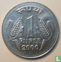 India 1 rupee 2000 (Noida)