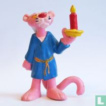 Pink Panther with candlestick