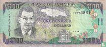 Jamaica 100 Dollars 1994