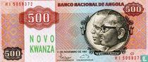 Angola 500 Novo Kwanza ND (1991)