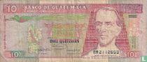 Guatemala 10 Quetzales 1992