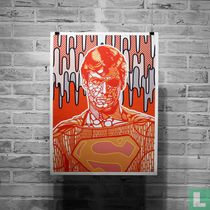 Dead Superman, Rest in Paint (Revisited, red variant)