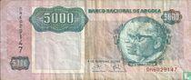 Angola 5.000 Kwanzas 1991