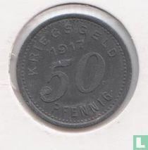 Barmen 50 pfennig 1917