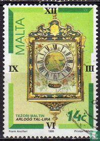 Kunstschatten - oude uurwerken