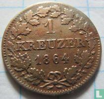Beieren 1 kreuzer 1864
