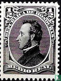 Francisco Morazán (herdruk)