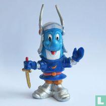 Dolfi als ridder