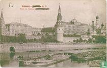 Kremlin en rivier Moskva (0)