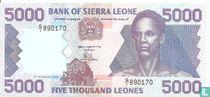 Sierra Leone 5.000 Leones 1993