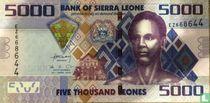 Sierra Leone 5.000 Leones 2010