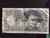 France 50 Francs 1985