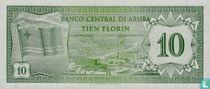 Aruba 10 Florin 1986