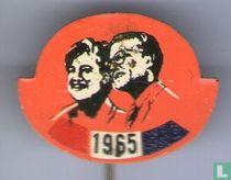 1965 Margriet en Pieter (rond)