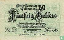 Innsbruck 50 Heller 1919