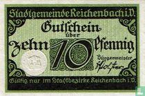 Reichenbach 10 Pfennig 1919